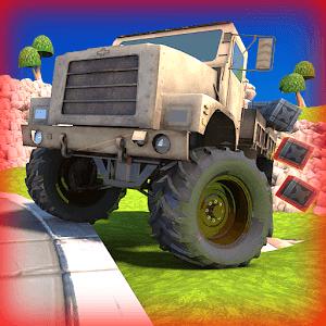 Kamyon Oyunu 3D Yarışçı Arazi Android
