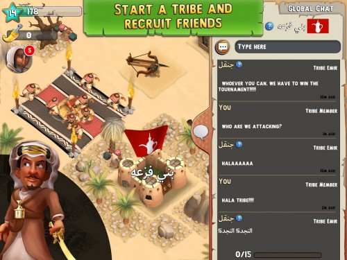 Tribal Rivals Apk indir 3