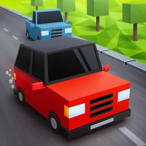 Blocky Cars Traffic Rush Android