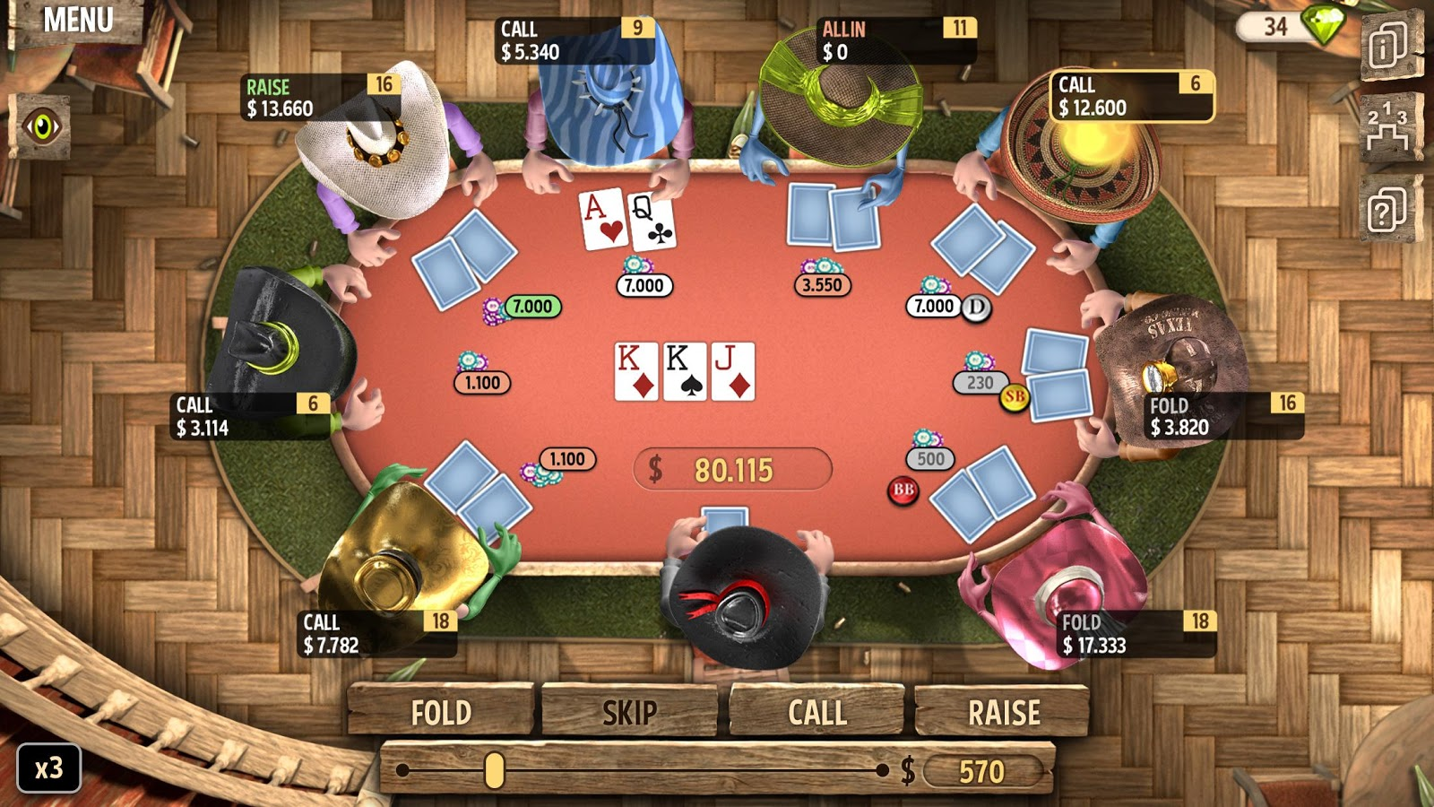 Governor poker 2 android apk