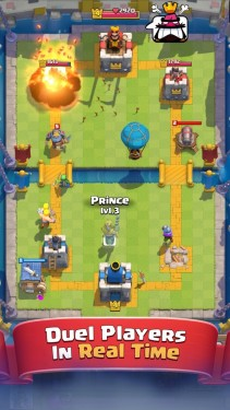 Android oyun club clash royale
