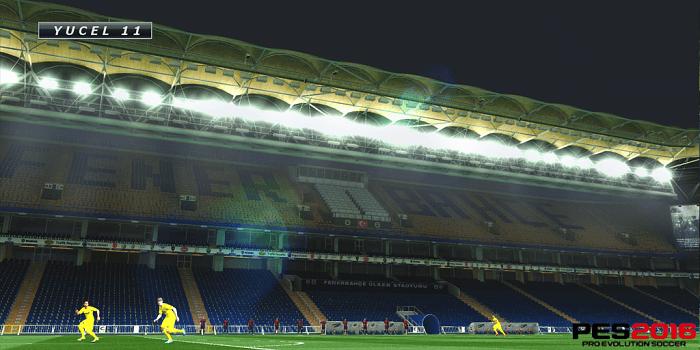 Pes 2016 Fenerbahçe Şükrü Saraçoğlu Stadyum Yaması