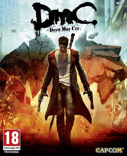 DmC Devil May Cry cover