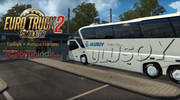 Euro Truck Simulator 2 Avrupa + Türkiye Harita Modu
