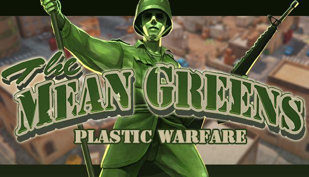 The Mean Greens - Plastic Warfare