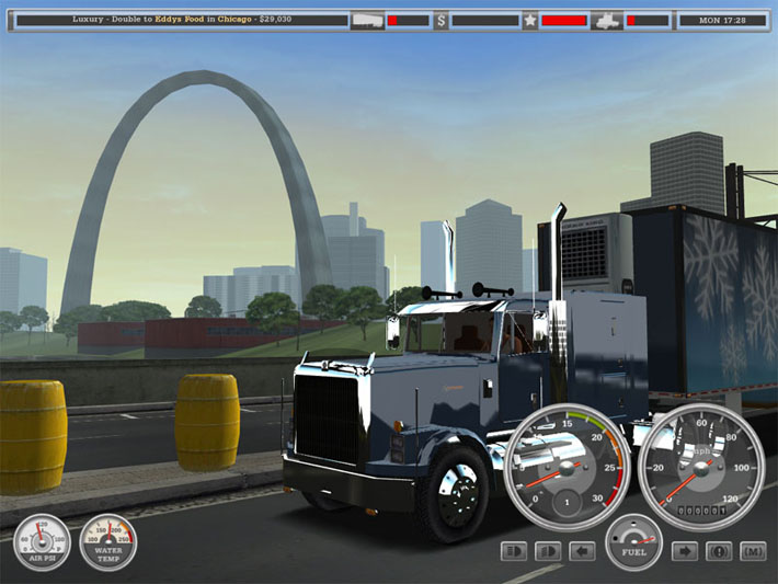 18 wheels Of steel android indonesia bus Mods