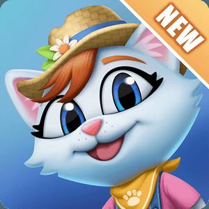 Kitty City: Help Cute Cats Build & Harvest Crops APK